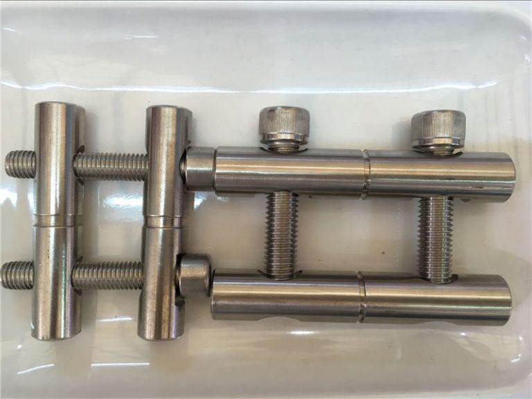 ansi 316ti / hr 1.4571, 317l / hr 1.4438 Nerđajući čelik, serijski dijelovi šipke za spajanje dijelova