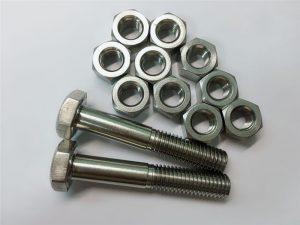 Pričvršćivač od nehrđajućeg čelika od legure 20 vijka i matica uns n08020