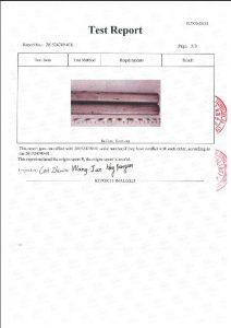 Certifikat za A453 660B 3