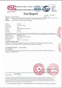 Certifikat za S31254