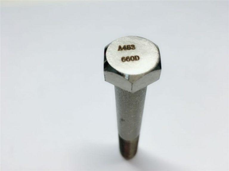 a286 visokokvalitetni pričvršćivači astm a453 660 en1.4980 učvršćenja vijcima za hardverski stroj
