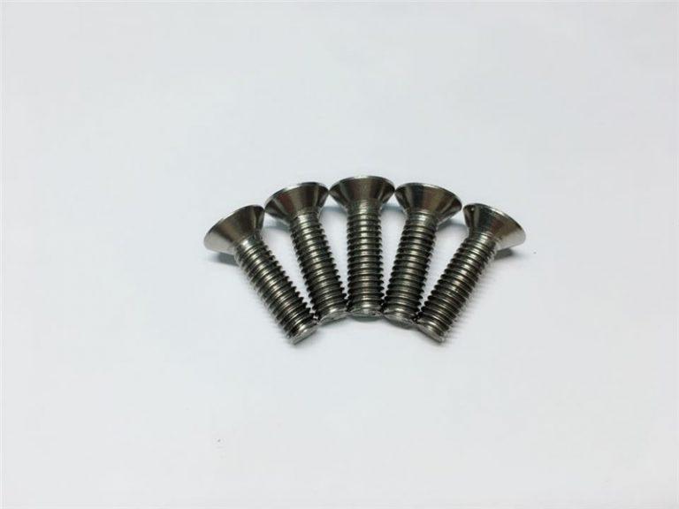 M3, M6 vijčani glava titana sa glavicom poklopca glava titana prirubnica za operaciju kralježnice