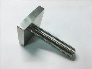 No.105-Nickel Cooper monel400 kvadratni vijčani vijak un n04400