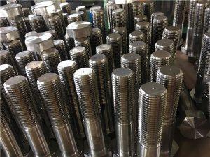No12-šesterokutni vijci ISO4014 polusremi A193 B8, B8M, B8T, B8C SS učvršćivač