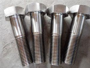 Br.15-Nitronic 50 XM-19 Šesterokutni vijak DIN931 UNS S20910