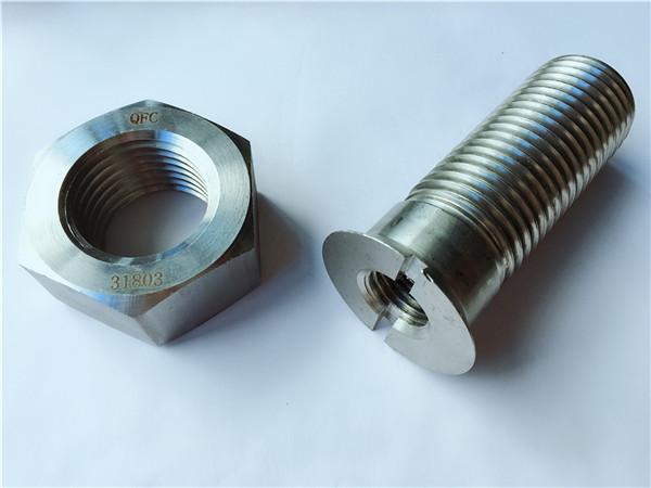 prilagođeni vijak i matica od metalnog čeličnog metalnog čelika