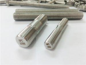 Br. 80-dupleks 2205 S32205 2507 S32750 1,44410 visokokvalitetni učvršćeni drveni sidreni štapni sidro