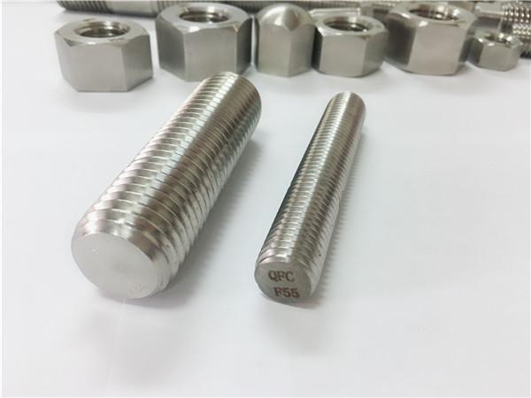 f55 / zeron100 pričvršćivači od nehrđajućeg čelika puni navojni s32760