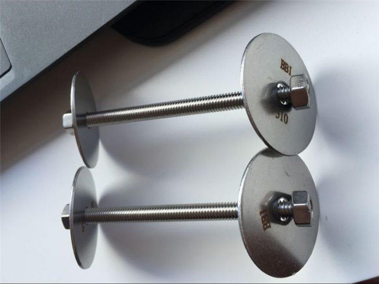 ss310 / ss310s zatvarač astm f593, vijci od nehrđajućeg čelika, matice i podloške