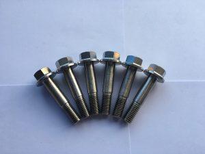 din 7504 vijak sa šesterokutnom prirubnicom od nehrđajućeg čelika, šesterokutni vijak sa prirubnicom za prstene
