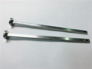 dobavljač učvršćivača hardvera 316 nehrđajući čelik, ravna glava kvadratnog vrata din603 m4 vijak za nosač