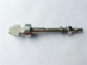 vijak za disk kočnice od titana sa podlošcima za pehare i konusne pločice